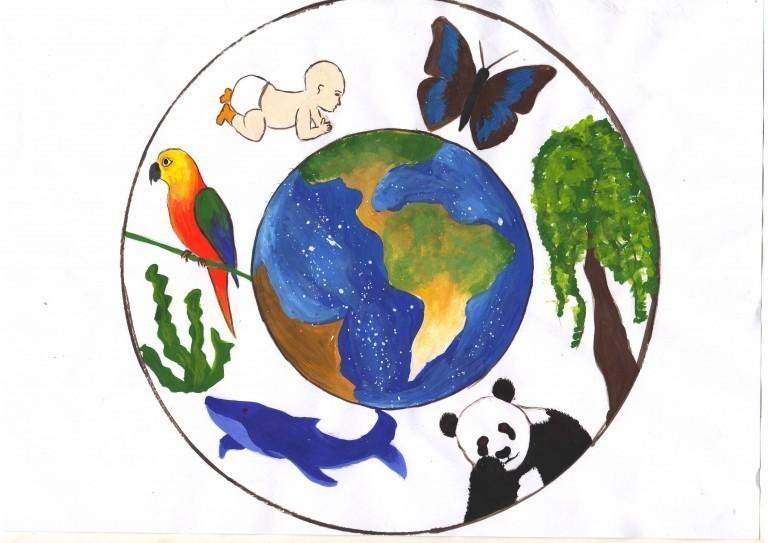 рисунки моя планета земля каталоге интернет-магазина